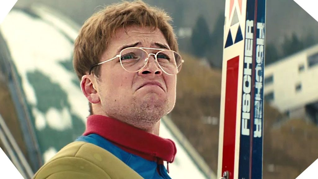 Taron Egerton in Eddie the Eagle
