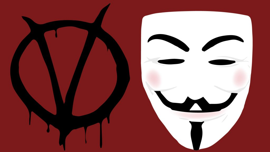 V for Vendetta wallpaper